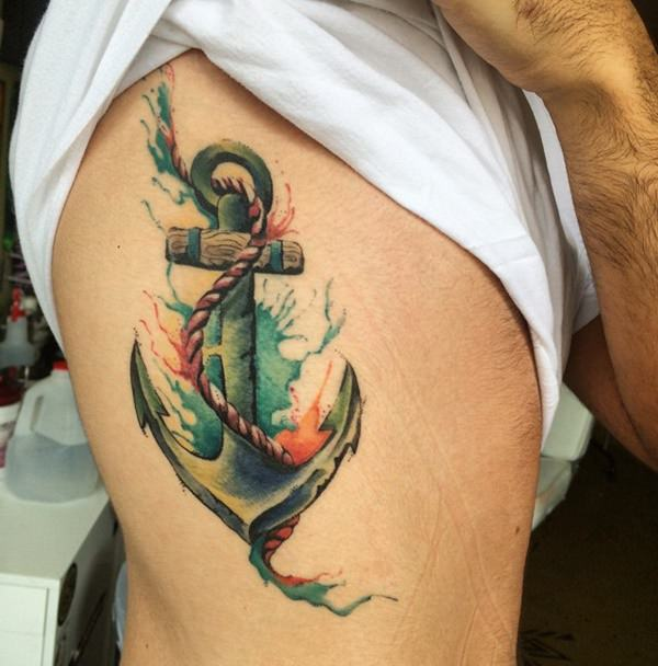 95 Best Anchor Tattoo Designs Meanings