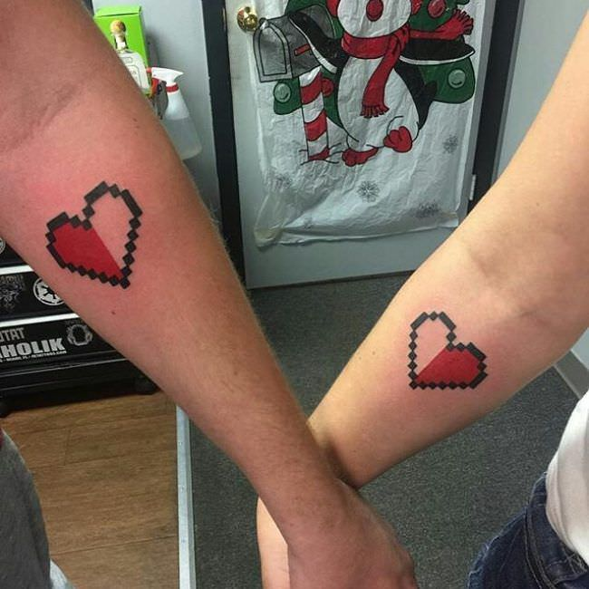 101 Complimentary Tattoo Designs For Couples
