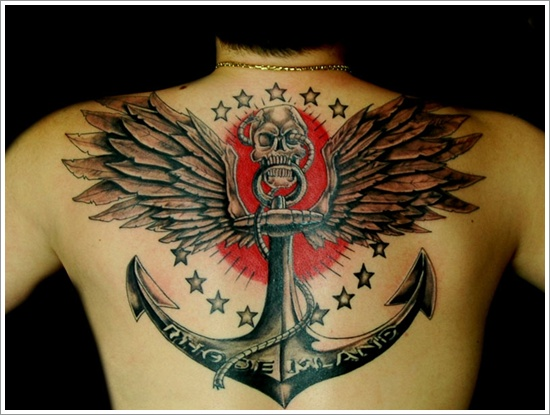 Anchor Tattoo Meaning and Designs (10)