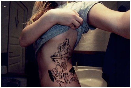 Anchor Tattoo Meaning and Designs (11)