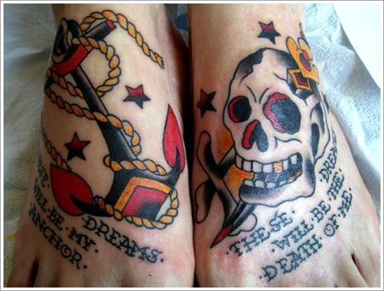 Anchor Tattoo Meaning and Designs (16)