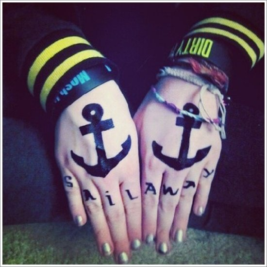 Anchor Tattoo Meaning and Designs (25)