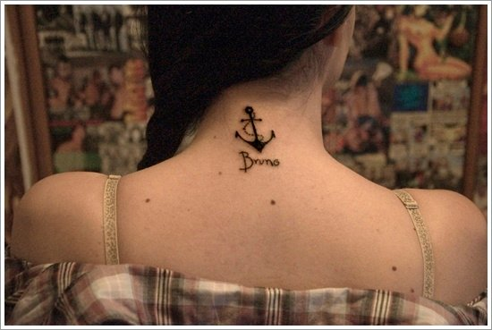 Anchor Tattoo Meaning and Designs (8)