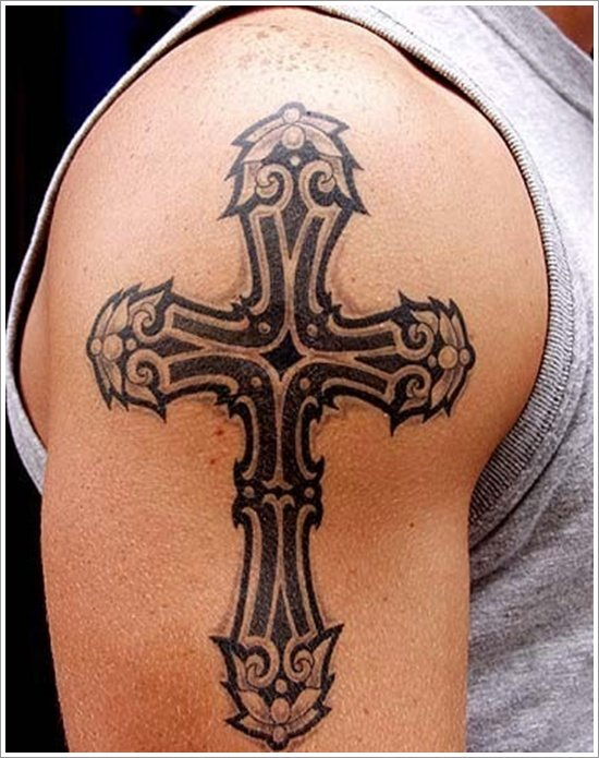 30 celtic cross tattoo design ideas