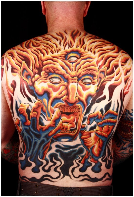 35 Bad Ass Evil Tattoo Designs