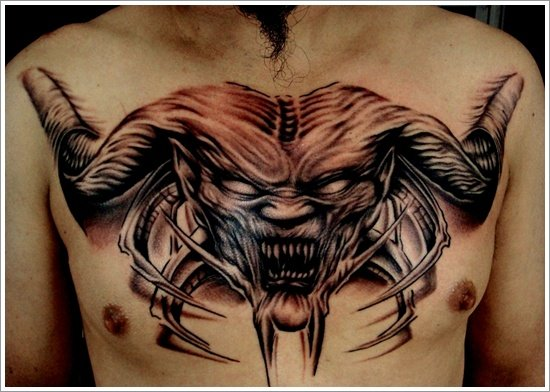 Evil Tattoo Designs (23)