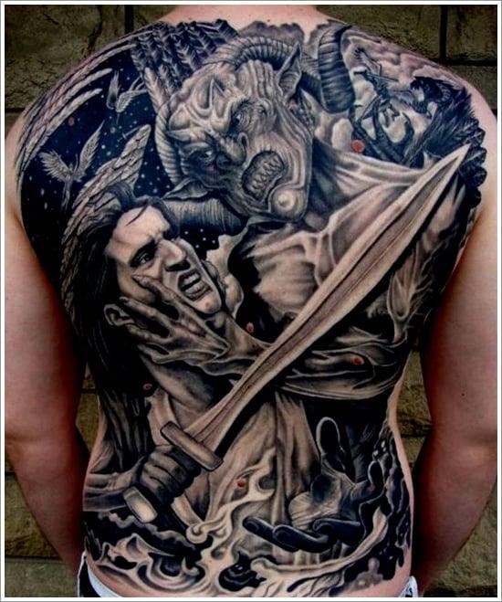 Evil Tattoo Designs (9)