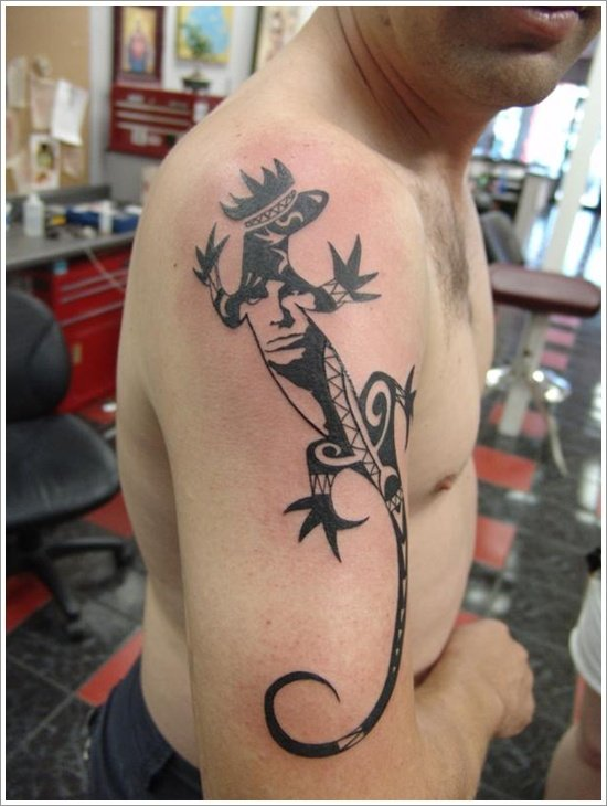 Lizard Tattoo Designs For Men and Women (14)