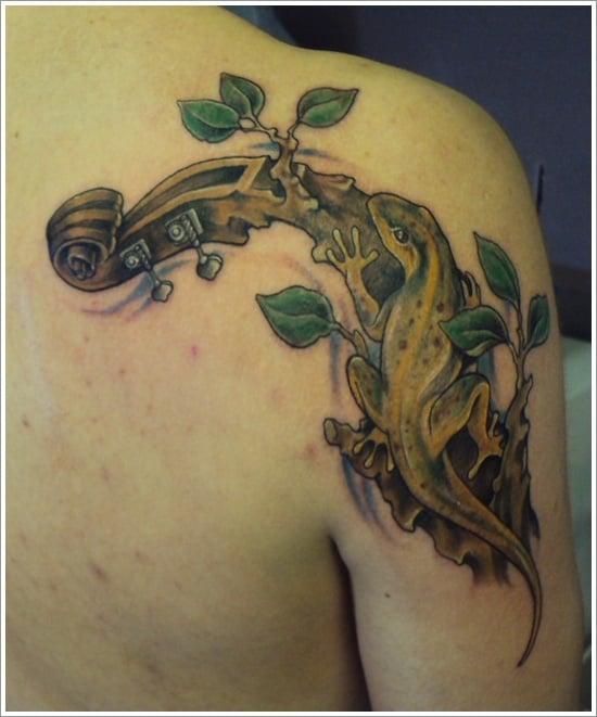 Lizard Tattoo Designs For Men and Women (15)
