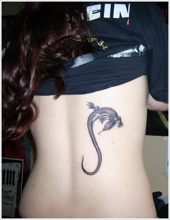 Lizard Tattoo Designs For Men and Women (24)