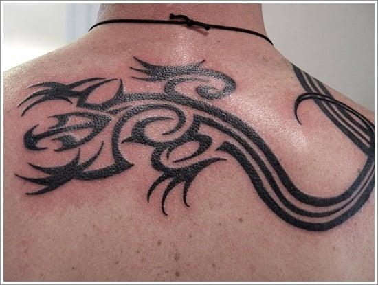 Lizard Tattoo Designs For Men and Women (33)