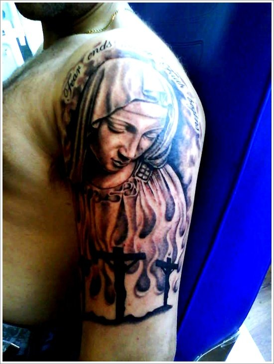 Religious Tattoo Designs (20)