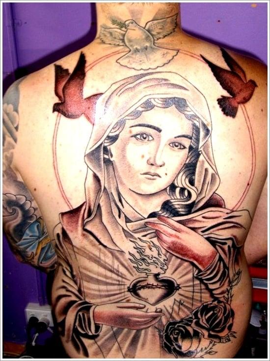 Religious Tattoo Designs (5 )