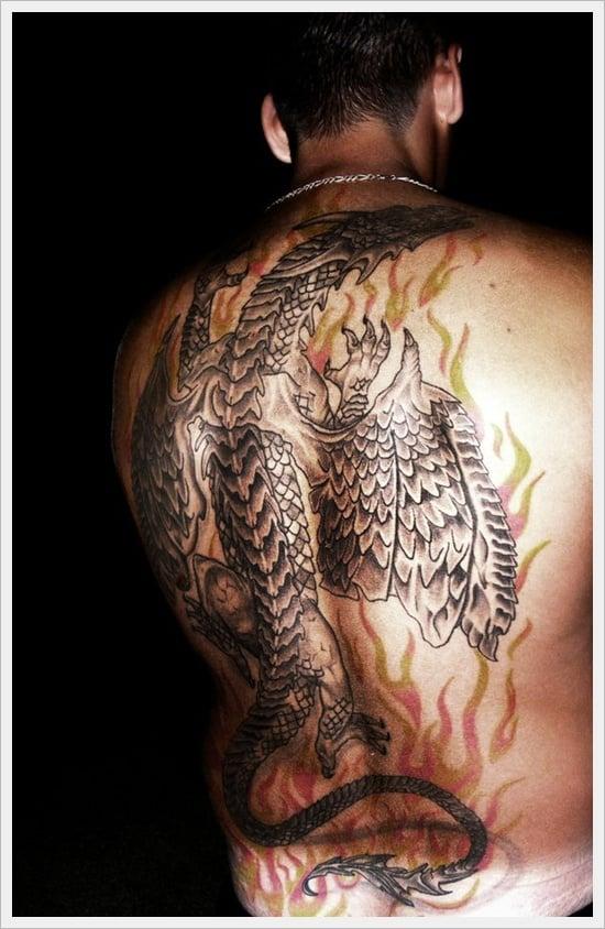 Tribal Back Tattoo Designs (10)