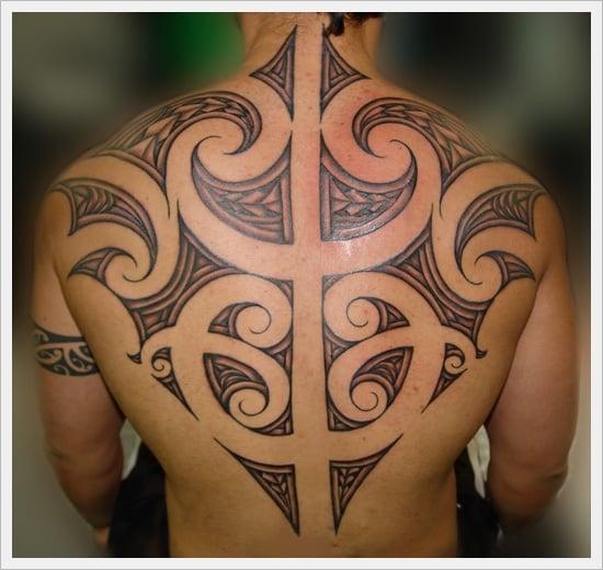 Tribal Back Tattoo Designs (12)