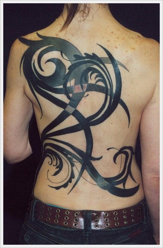 35 tribal back designs