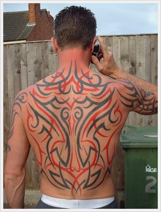 Tribal Back Tattoo Designs (25)