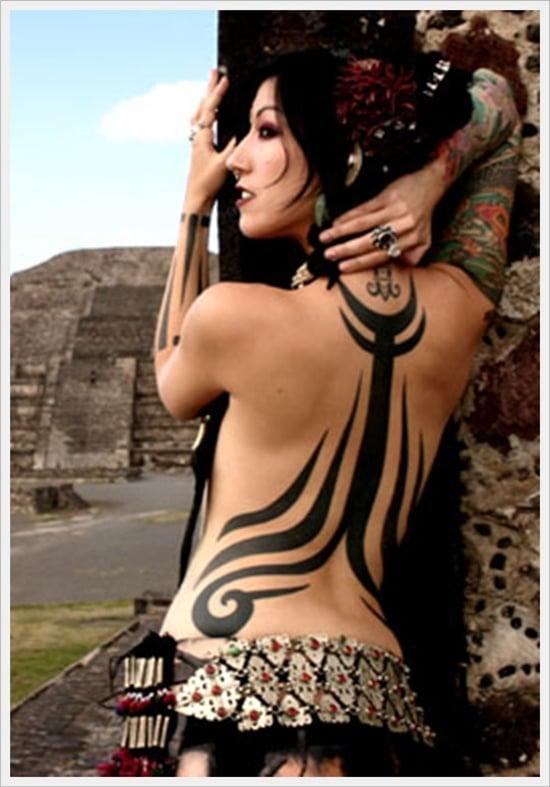Tribal Back Tattoo Designs (30)