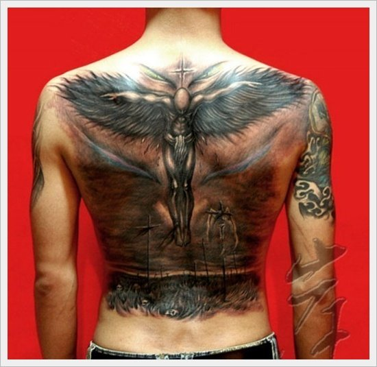35 tribal back tattoo designs. Black Bedroom Furniture Sets. Home Design Ideas
