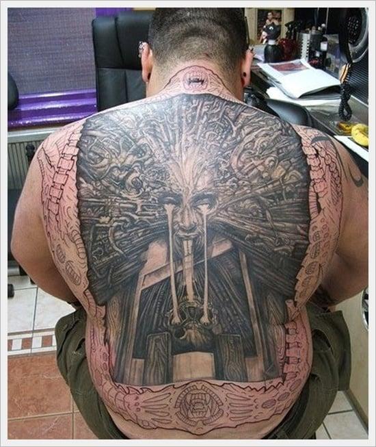 Tribal Back Tattoo Designs (6)