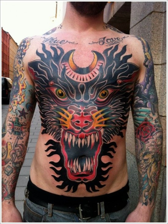 45 japanese tattoos with a culture of their own. Black Bedroom Furniture Sets. Home Design Ideas