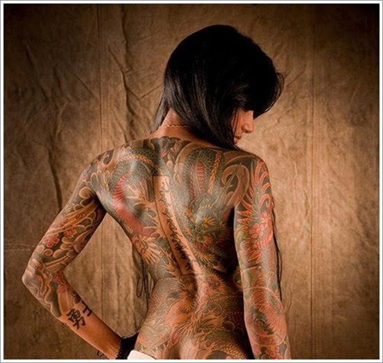 Fabulous Japanese Woman Tattoo Design 550 x 521 · 109 kB · jpeg