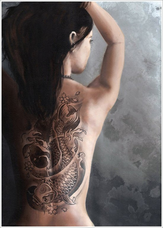 koi carp Tattoo Designs (15)