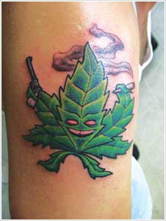 leaf tattoos (21)