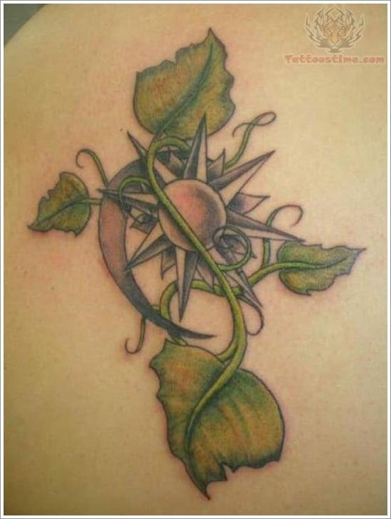 leaf tattoos (22)