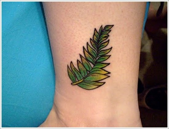 leaf tattoos (4)