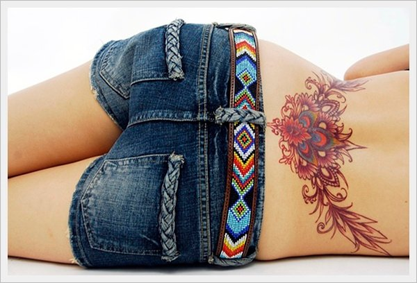 lower back tattoos for girls (2)