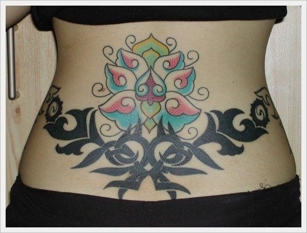 lower back tattoos for girls (8)