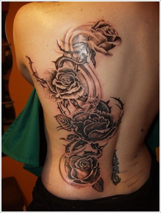 rose tattoo designs (3)
