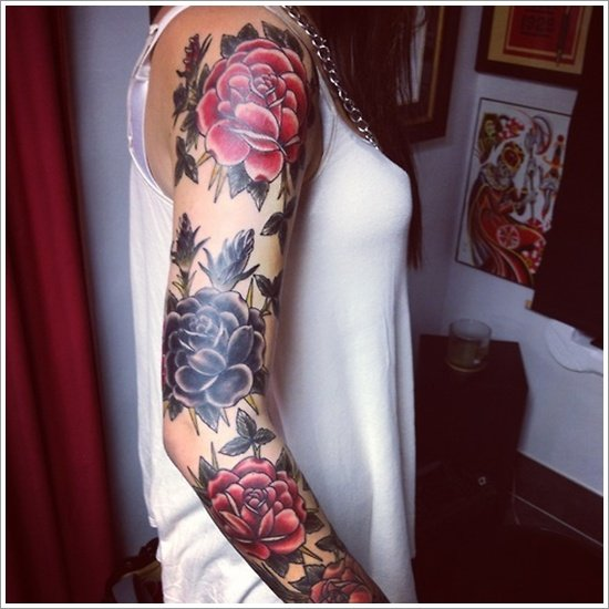 rose tattoo designs (36)