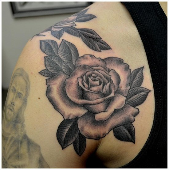 rose tattoo designs (9)