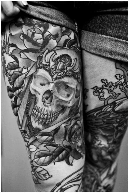 thigh tattoos for women (1)