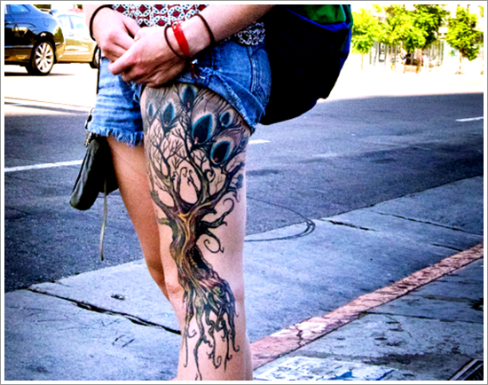 thigh tattoos for women (1)