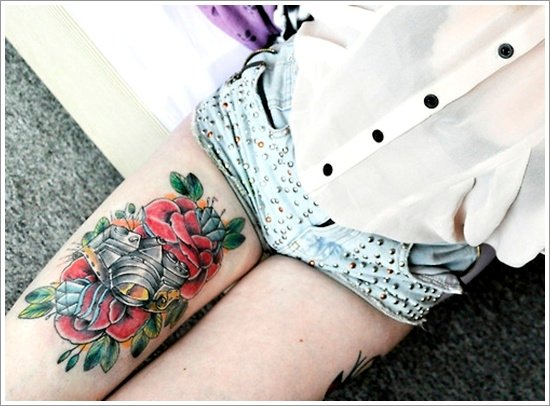 thigh tattoos for women (27)