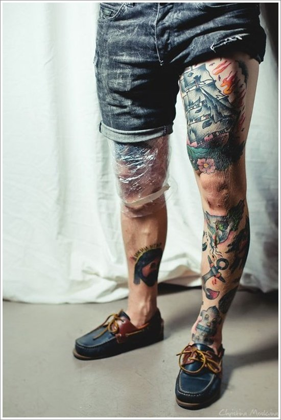 thigh tattoos for women (28)
