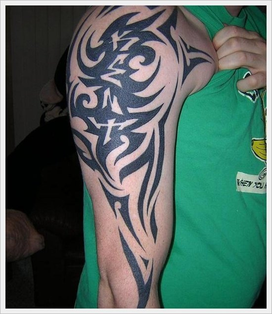 99 Tribal Tattoo Designs For Men Women