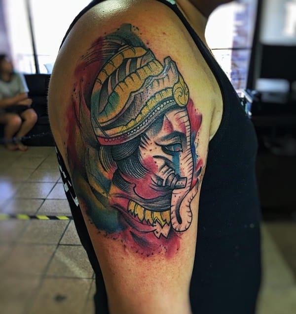 Elephant tattoo meaning - photo#29
