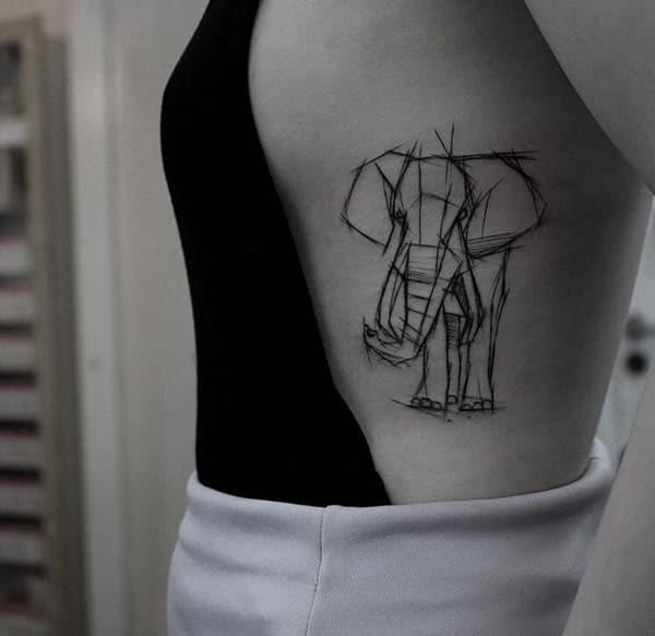 Elephant tattoo meaning - photo#31