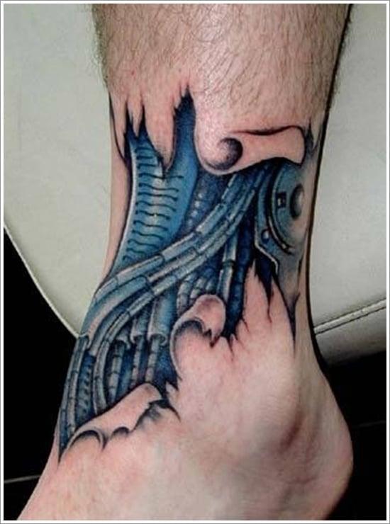 Biomechanical tattoo design (16)
