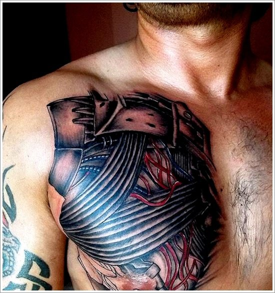 Biomechanical tattoo design (23)