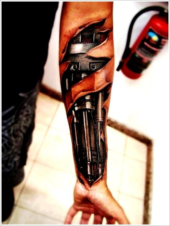 Biomechanical tattoo design (31)