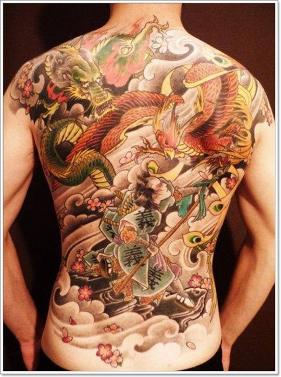 Phoenix Tattoo designs For Men (3)