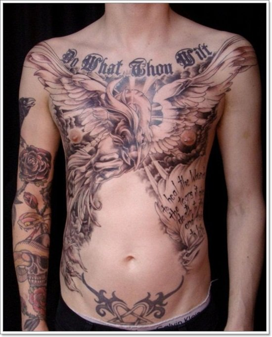 Phoenix Tattoo designs For Men (6)