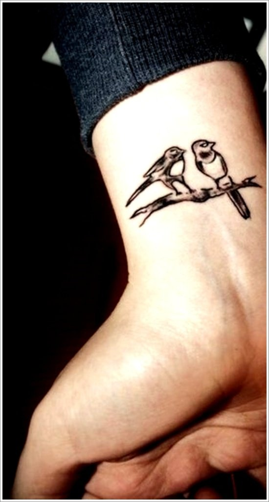 Small Bird Tattoo