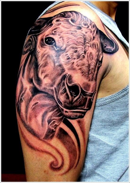 bull tattoo designs (15)
