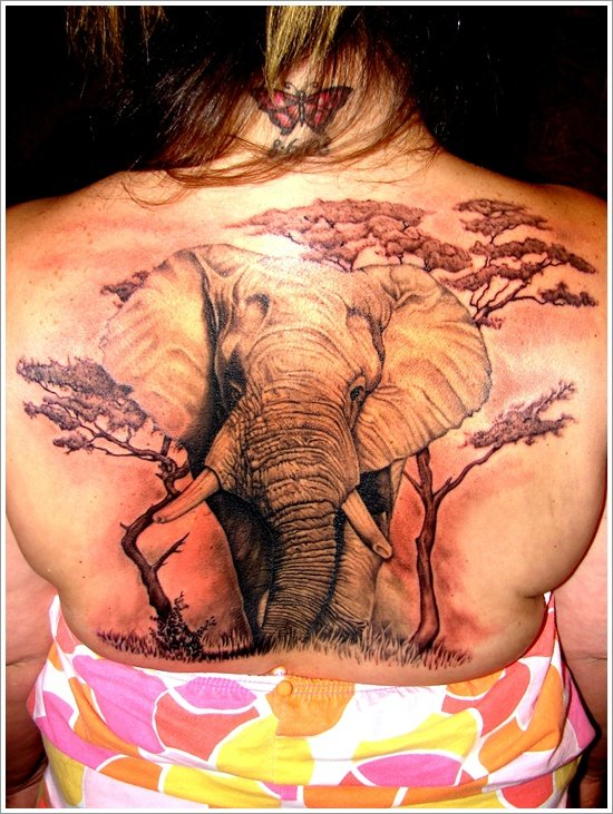 elephant tattoo (27)